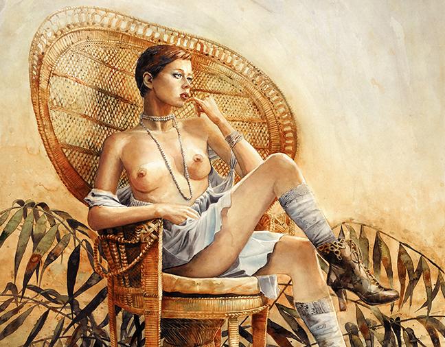 Le fauteuil Emmanuelle : symbole érotique
